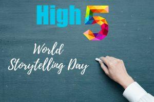 5 pomysłów na opowiadanie historyjek czyli be ready for World Storytelling Day