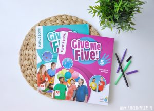 5 sposobów na READING z Give Me Five! (konkurs)