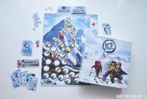 Zdąbądź szczyt K2, czyli recenzja gry od wydawnictwa REBEL