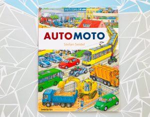"""WYSZUKIWANKA dla najmłodszych fanów pojazdów – """"Automoto"""""""