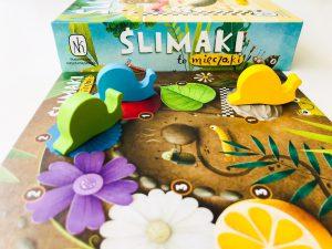 WYŚCIG ślimaków, czyli gra w której wygrywa… najwolniejszy