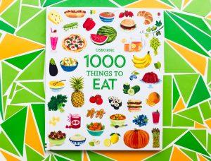1000 rzeczy, które można zjeść, czyli kilka słów o ilustrowanym SŁOWNIKU anglojęzycznym