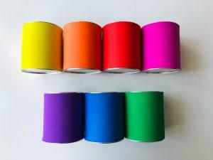 Kolorowe PUSZKI, prosty projekt DIY