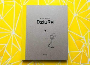Mała DZIURA w książce, która wzbudza ogromną ciekawość czytelnika