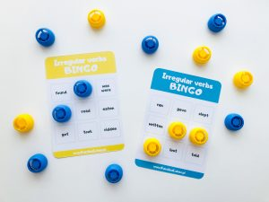 Irregular verbs for beginners BINGO (do pobrania)