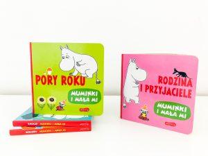 Pierwsze MUMINKOWE książki dla maluchów o bardzo ważnych sprawach