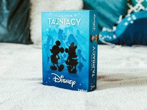 Popularna gra w wersji dla najmłodszych, czyli TAJNIACY z bohaterami Disneya