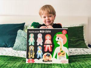 ANATOMIA dla maluchów z puzzlami od Czuczu